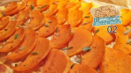Ofenkürbis-Flammkuchen mit Kaffee & Orange - Flammkuchen Flammkuchen Flammkuchen 02