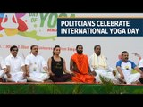 International Yoga Day: When political leaders twist and turn