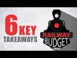Rail Budget 2016 | Key takeaways