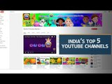 India's top 5 YouTube channels