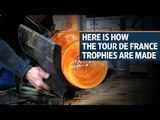 How the Tour De France trophies are made