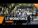 Top Indian IT firms see workforce shrink for the first time