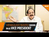 Venkaiah Naidu sworn in as 15th Vice President of India