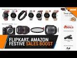 Amazon, Flipkart claim huge boost from festive season sales