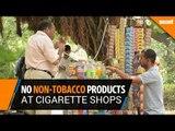 No non-tobacco products at cigarette shops