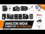 Amazon pumps up $4.74 billion to take on Flipkart