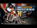 Indian activists hold anti-Pakistan protest in Delhi