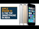 Apple iPhone 5s is the top premium smartphone in India: report