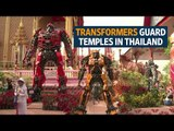 Temples transformed: superheroes bolster Buddha's ranks