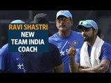 Ravi Shastri is the new team India coach