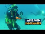 Wine makers are ageing wine underwater