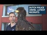 Dutch police unveils latest recruits against drones