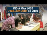 Worrying trend for India's job market