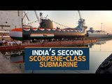 India unveils indigenous submarine INS Khanderi