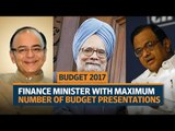 Budget 2017 | Which finance minister has tabled the maximum number of budgets?