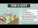 Mysuru, Chandigarh cleanest cities in India, show Swachh Bharat rankings
