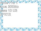 Carte mémoire SDHC SanDisk Extreme Pro 128Go de jusquà 300Mos UHSII Classe 10 U3