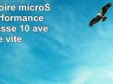 PNY PSDU128U185ELGE Carte mémoire microSD Elite Performance 128 Go Classe 10 avec une