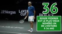 Roger Federer - Le plus vieux numéro un de l'histoire en chiffres