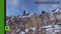 Des falaises hautes de 300 mètres ressemblant au mur de Game of Thrones «découvertes» en Sibérie