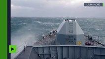 Des navires russes dans la Manche