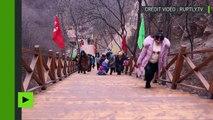 En Chine, le pont de verre le plus long du monde ouvre au public