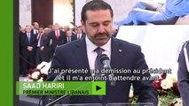 Le Premier ministre libanais Saad Hariri annonce que sa démission est en suspens