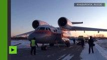 Trois ans et seule survivante d'un accident d'avion dans l'Extrême-Orient russe
