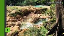 Après le séisme les plus belles cascades mexicaines disparaissent