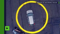 Need For Speed ! Un inventeur russe transforme une voiture des années 1950 en bolide de course