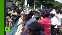 Haïti : heurts lors d'une manifestation antigouvernementale à Port-au-Prince