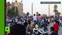 Tripoli : des contre-manifestants protestent contre les réformes proposées par Basit Igtet