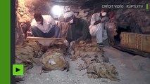 Egypte : découverte de momies et de la tombe d'un important orfèvre d'Amon