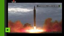 Le tir du missile balistique nord-coréen ayant volé au-dessus du Japon