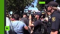 Etats-Unis : heurts à Berkeley entre partisans de Trump et contre-manifestants