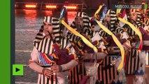 Les images impressionnantes du Festival de musique militaire de la tour Spasskaïa à Moscou