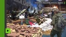 L'équipement militaire de Daesh saisi en Syrie est exposé forum «Armée-2017» près de Moscou