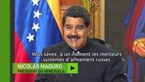 Nicolas Maduro considère que les armes russes sont les «plus modernes» jamais utilisées au Venezuela