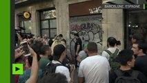 Une bagarre entre antifascistes et militants d'extrême droite éclate à Barcelone
