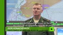Syrie : l'armée russe annonce une trêve dans la province de Homs après un accord avec les rebelles