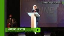 Marine Le Pen à Calais : «la pression migratoire, elle est là et ne cédera pas»