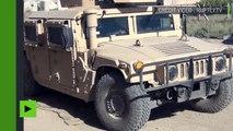 Syrie : des soldats américains opèrent dans Raqqa