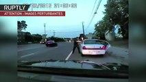 Etats-Unis : vidéo choc d'un policier abattant un conducteur noir lors d'un contrôle routier