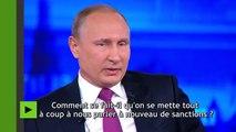 Vladimir Poutine : «Les sanctions nous ont obligé à mettre nos cerveaux en marche»