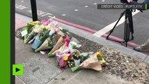 Les Londoniens déposent des fleurs pour rendre hommage aux victimes de l'attaque du 3 juin