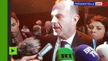 «Deux choix de civilisation», prévient Steeve Briois, vice-président du Front national