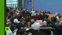 Frank Elbe du FDP s'exprime sur RT sur le refus de Frauke Petry de siéger avec l'AfD au Bundestag