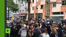 Des arrestations menées lors des manifestations de la mouvance identitaire et des antifas à Berlin