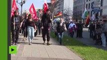 PEGIDA défile pour le deuxième anniversaire de la création de sa section de Nuremberg