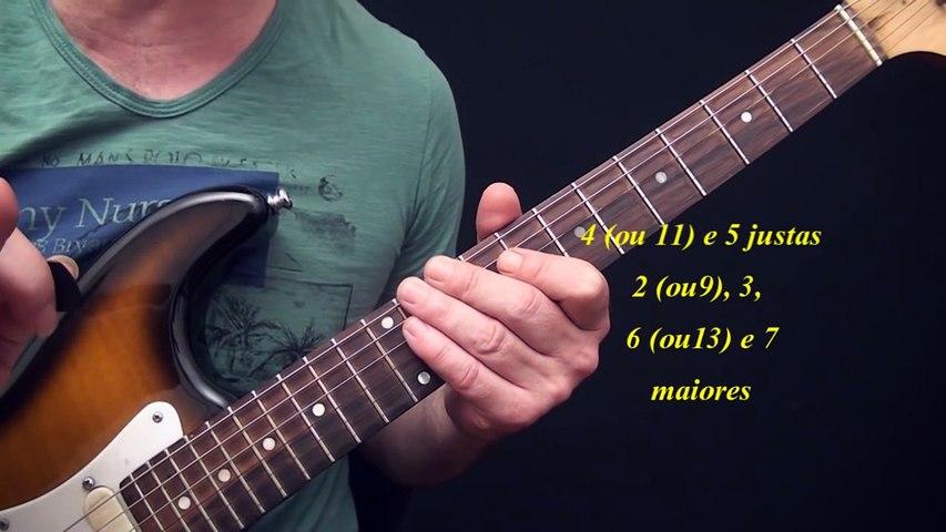 Intervalos aplicados ao violão e à  guitarra - Harmonia 1